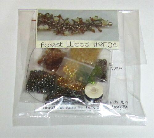 FOREST WOOD Beaded Bracelet Kit #2004