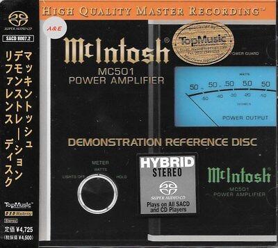 McIntosh MC501 Demonstration Reference Disc SACD NEW