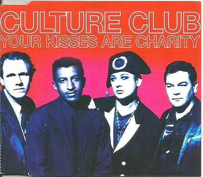 Boy George Culture Club Your Kisses Are Charity 2Mixes   Dub Cd Single Usa Seler