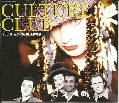 Boy George Culture Club I Just Be Loved   Do You Really Mixes Cd Single Sealed