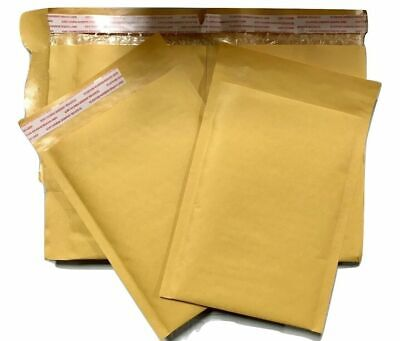 200 1 7.25x12 Kraft Bubble Padded Envelopes Mailers 7.25x12 Factory Seconds