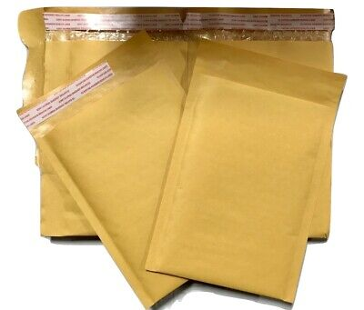 250 0 6x10 Kraft Paper Padded Bubble Envelopes Mailers 6x10 Factory Seconds