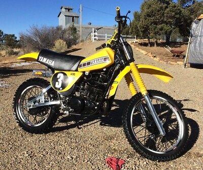 1978 Yamaha YZ  1978 Yamaha YZ400 AHRMA