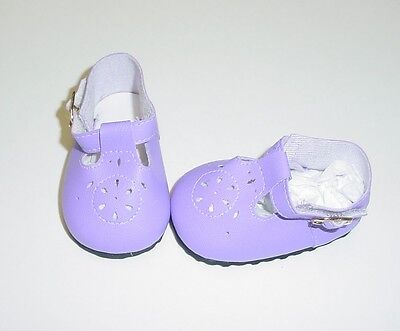 Baby Doll Shoes For Toddlers (Doll Shoes, 85mm LT PURPLE T-Straps for Chatty Cathy, My Twinn Toddler Baby 20