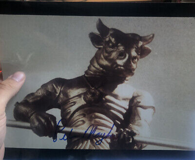 Peter Mayhew Hand Signed 8x10 Photo Star Wars Chewbacca Genuine Autograph