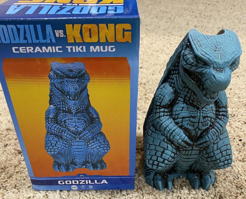 MONDO Godzilla vs. Kong Tiki Mug: GODZILLA Heat Ray Variant LIMITED x/500 RARE!