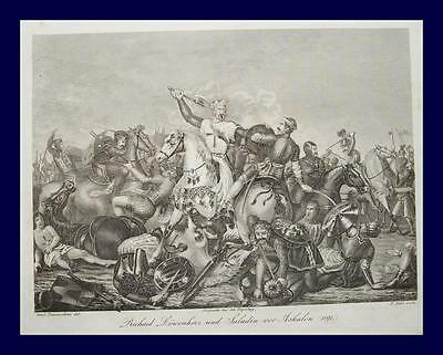 Kreuzzug Kreuzritter Richard Löwenherz Saladin Askalon Jerusalem Heiliges Land