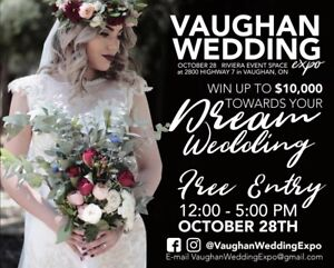 Vaughan wedding expo vendors wanted !