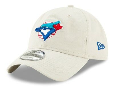 Toronto Blue Jays New Era MLB Cooperstown Core Classic Stone Adjustable - Blue Cooperstown Adjustable Hat
