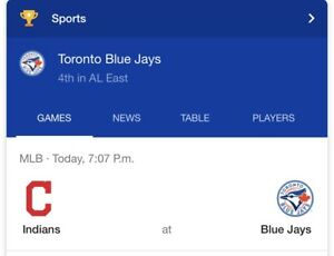 Bluejay tickets for sale tonight's game September  7 PM