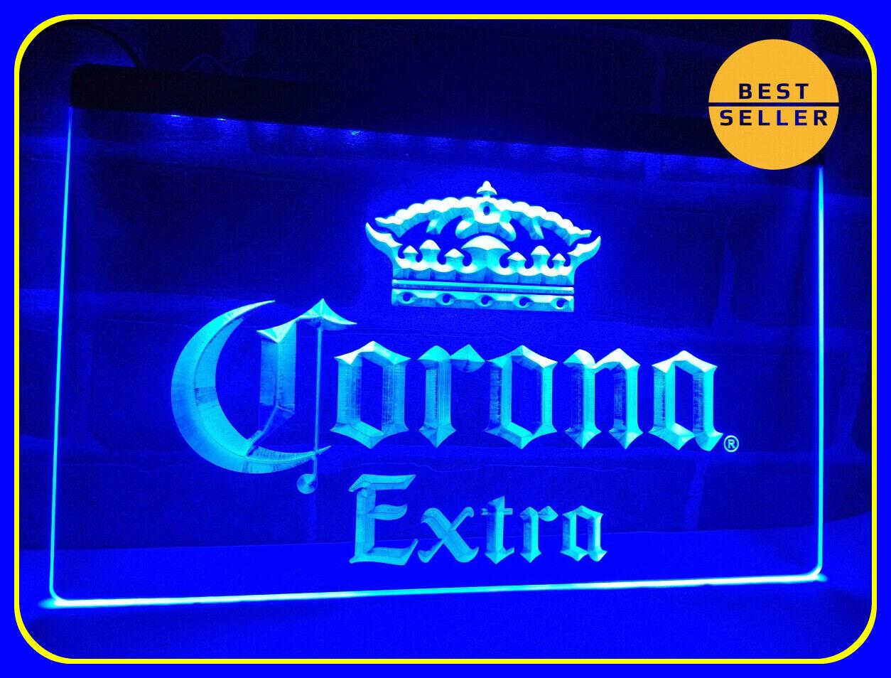 LED Neon Light Corona Extra Beer Bar Pub Cafe Sign Advertise