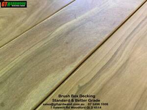 Brisbane Brush Box Hardwood Decking