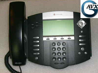 Polycom SoundPoint IP 550 +90d Wrnty, Handset, Stand, Cables: 2200-12550-025