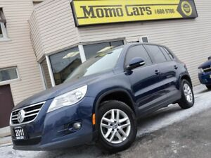2011 Volkswagen Tiguan Wolfsburg edition! AWD! Only $266/Bi-week
