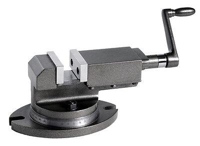 WABECO 1-Achsen Maschinenschraubstock 50 mm drehbar Schraubstock