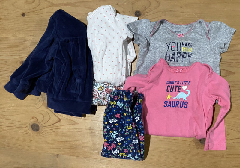 Baby Girl Clothes 9 Months Lot