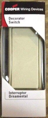3 way Ivory Quiet Rocker Switch   7503V-BOX  (Box 3 Way Quiet Switch)