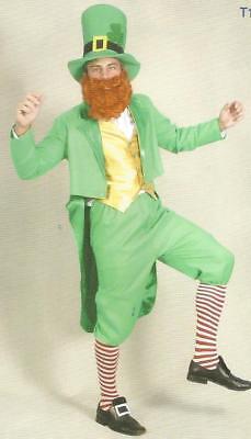 Leprechaun Costume St Patricks Day Green Carnival Marathon Rugby Football Sport