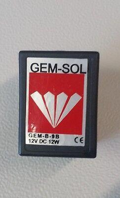 Tuttnauer Sterilizer Solenoid 01810905 12vdc 12w 1991 On Autoclave Parts