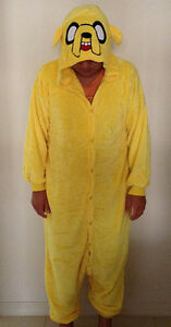 Jake The Dog Adventure Time Onesies Kid Adult Costume Pajama Tarneit Wyndham Area Preview