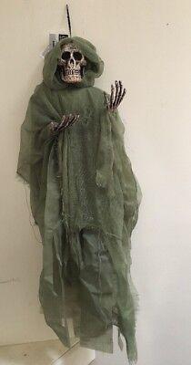 "Ashland Halloween Essentials Hanging Skeleton Prop 35"""