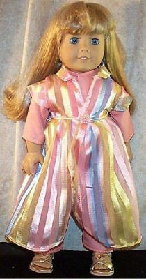 Doll Clothes Made2fit American Girl 18in Steampunk Inspired 3pc Shirt Pant Dress