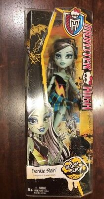 NEW Monster High. Gloom Beach Frankie Stein. Mattel Collectible Toy Doll