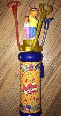 New Arthur Live Rotating Spinning Light Up Wand Toy Souvenir