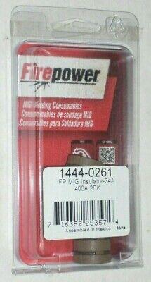 2 Victor Firepower 1444-0261 Mig Welding Gun Insulators 34a Heavy Duty Gen Tweco