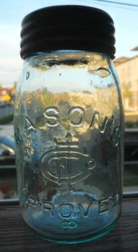 Bright Midget Glass Top Fruit Canning Mason Jar Mason
