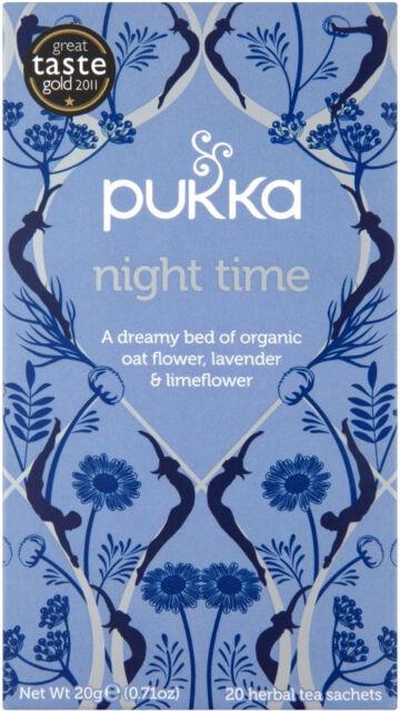 Pukka Night Time Organic Tea Bags (20)