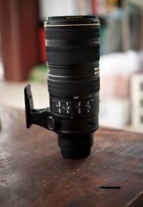 Nikon 70-200mm f/2.8 VR II