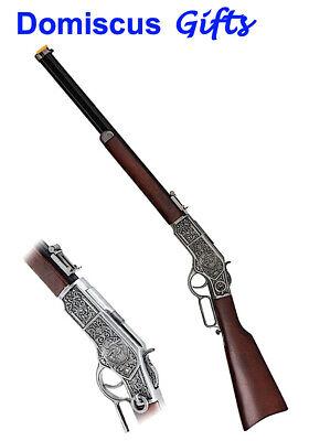 "38"" New! Vintage Western RIFLE Replica Long Barrel Pistol Classic GUN WG011W"