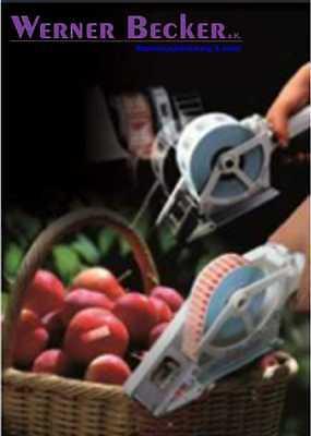 Etikettenspender APN TOWA FRUIT eckige Etiketten für Früchte