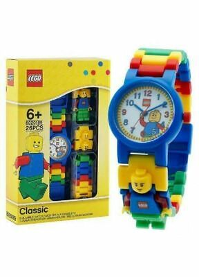 Lego Classic Childrens Buildable Minifigure Link Watch