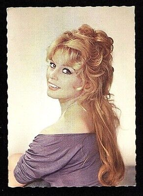 Brigitte Bardot 1960's original E.D.U.G. vintage Post Card  #123 by Sam Levine