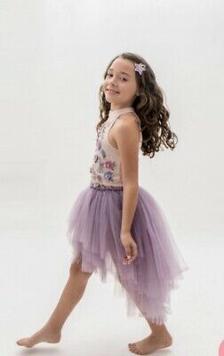 NWT Tutu Du Monde Size 10/11 Good Fortune Tutu Dress Goddess Lavender