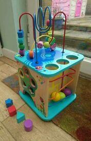 Wooden Children's Activity Cube