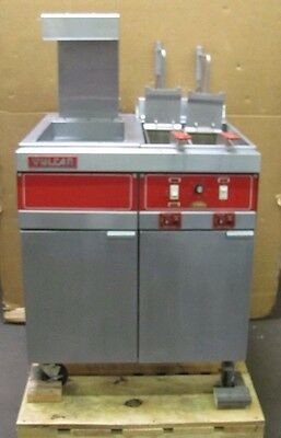 Vulcan 4erd50 480v 3ph 21.0 Kw 50 Lb Commercial Electric Fryer W Dump Station