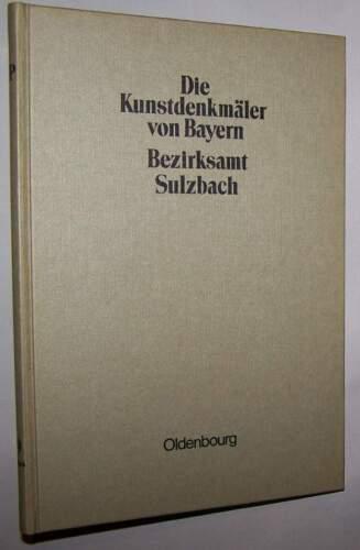 Kunstdenkmäler von Bayern Bezirksamt Sulzbach 1910 Oberpfalz Kr. Amberg Sulzbach