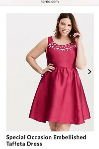 Torrid special occasion dress - New- size 20