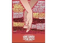 LSTD Love saves the day Sunday only ticket
