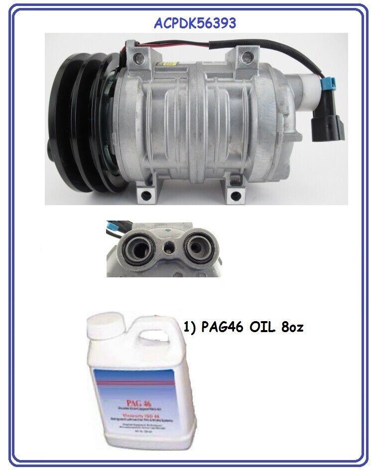 Compressor for Seltec Freightliner RV 22-64097 TM21HX NEW SAEJ639 103-56393