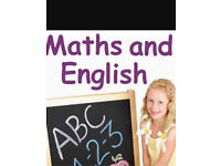 Tution for maths and english