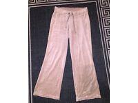 Size 10/12 Beige velour bottoms