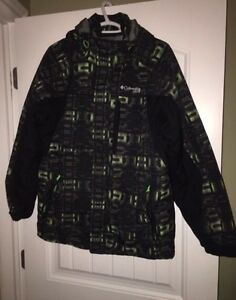 Mens Columbia Winter Jacket Size Med