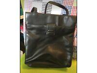 M&S black handbag good condition (can post)