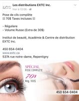 Extension de cils professionnel