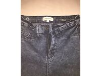 River island Molly jeans size 8