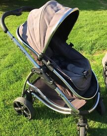 iCandy Strawberry Pram/ Pushchair with Carrycot and accessories